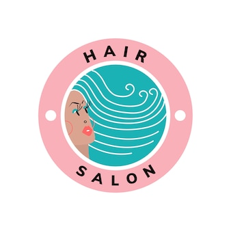 Beauty and hair salon icon