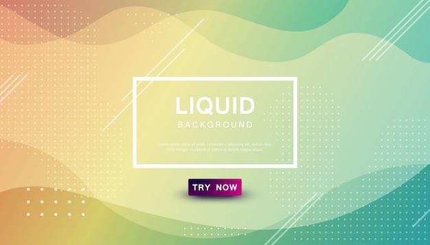 Beauty liquid color background