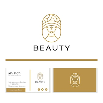 Beauty logo branding template