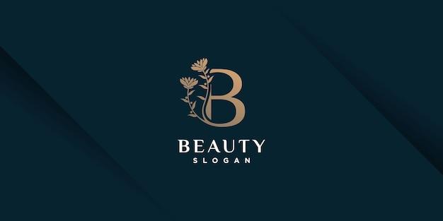 Логотип красоты с концепцией креативного элемента premium vector часть 4