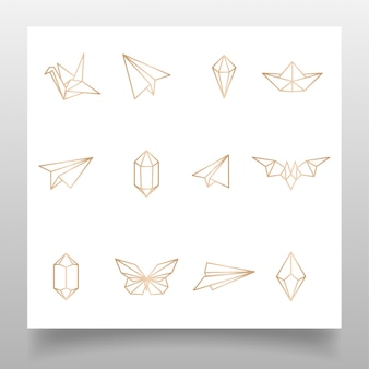 Beauty occult hand logo magic witch編集可能なテンプレートシンプルなデザイン
