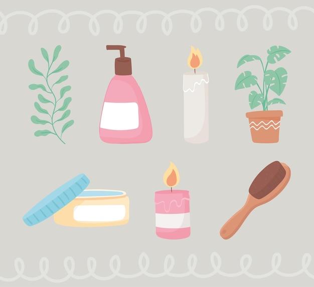 뷰티 루틴 제품 및 요소