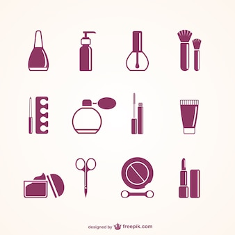 Beauty salon elements