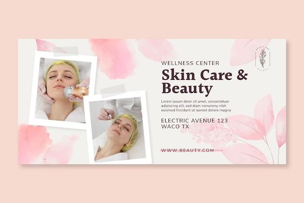 Beauty salon horizontal banner