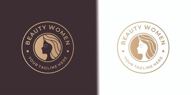 Салон красоты женский дизайн логотипа