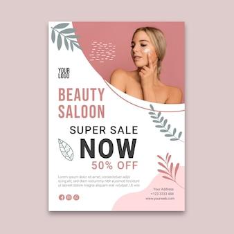 Beauty saloon flyer v