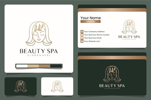 Спа и салон красоты, дизайн логотипа