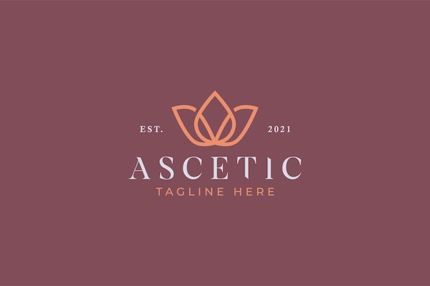 Beauty spa и логотип йоги