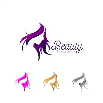 Beauty treatment business logo