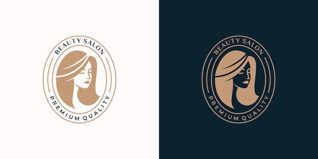 Логотип женского салона красоты