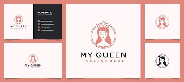 Beauty women logo design inspiration