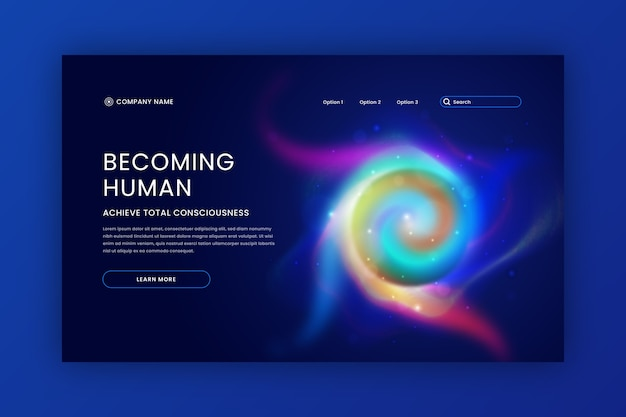 Becoming human delusion landing page