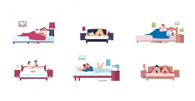 Bedroom furnitures set