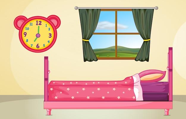 Обстановка спальни