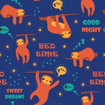 Bedtime pattern