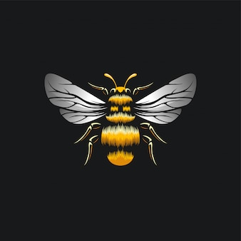 Bee design ilustration