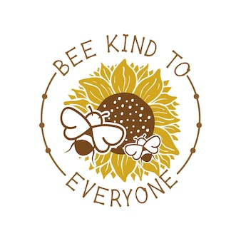 Пчела добра ко всем цитата надписи иллюстрации
