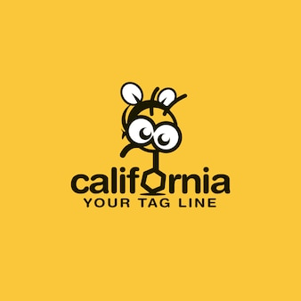 Bee logo design
