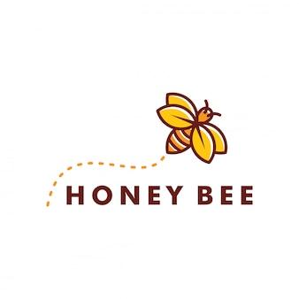 꿀벌 로고 디자인