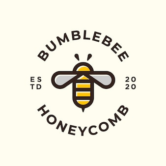 Bee logo and icon.