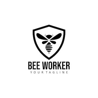 꿀벌 로고