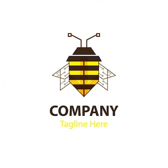 Bee шаблон формы логотипа
