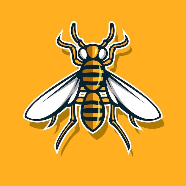 Bee sport symbol