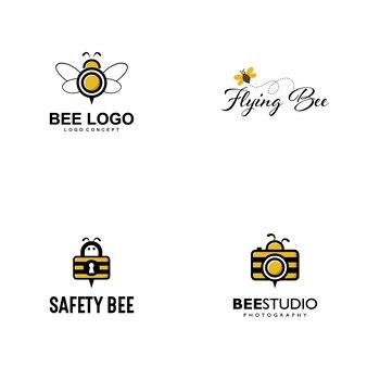 Логотип логотипа bee