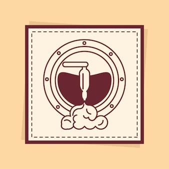 ビール樽バッジ