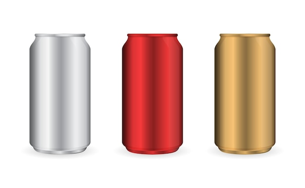 Beer can mock up container