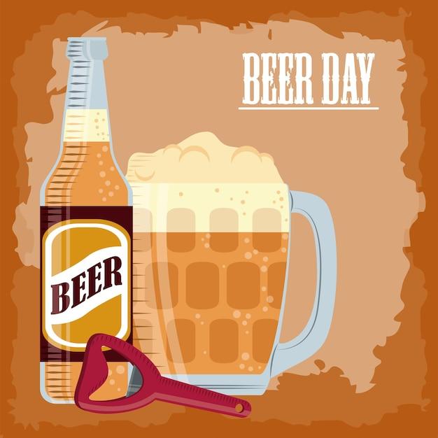 Beer day celebrate
