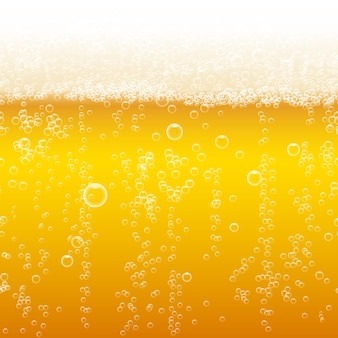 Beer foam background. light bright, bubble and liquid