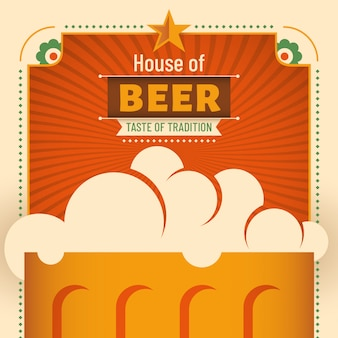 Beer house background
