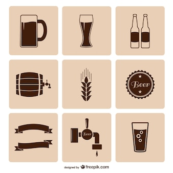 Beer icons pack