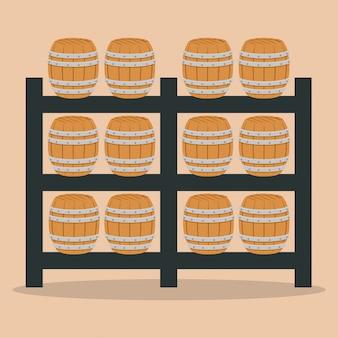 Beer industry design