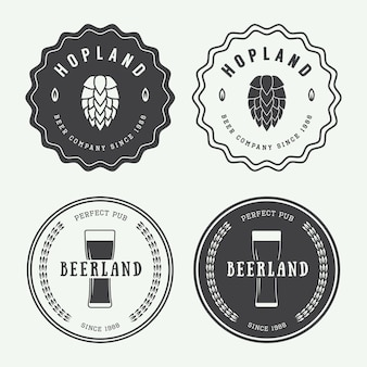 Beer and pub logos