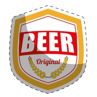 Beer related icons image