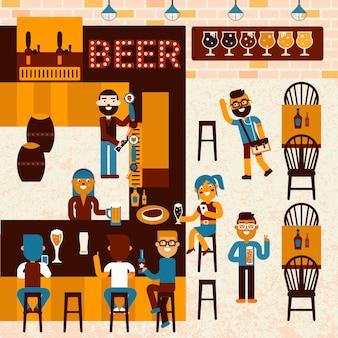 Beer restaurant