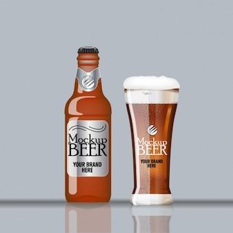 Beer template Free Vector