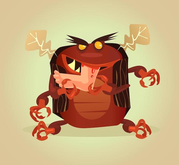 カブトムシの寄生虫は人間の肉を食べる