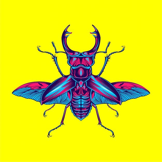 Жук насекомое