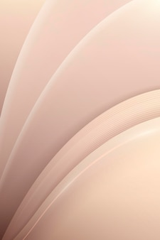 Beige abstract curved background