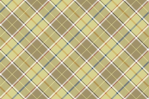 Beige check seamless diagonal fabric texture
