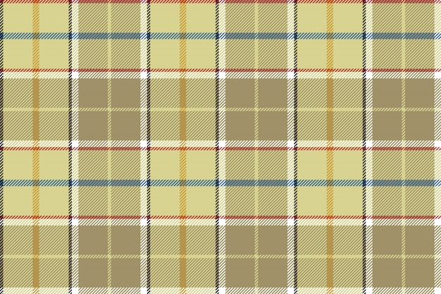Beige check seamless fabric texture