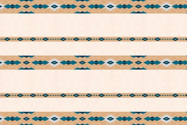 ベージュのシームレスな幾何学模様の壁紙 無料ベクター