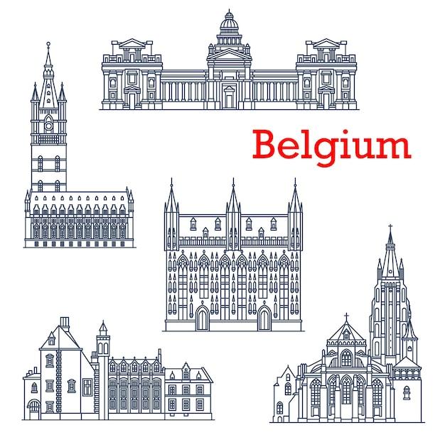 Достопримечательности архитектуры бельгии