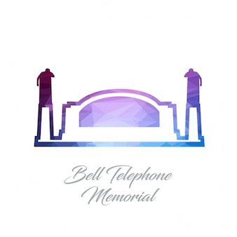 벨 전화 기념관, 다각형