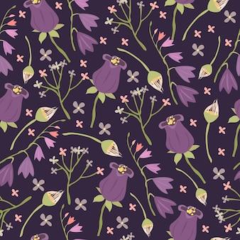 Seamless pattern di campane