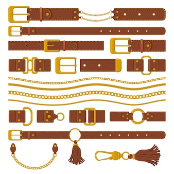Belts and chains elements