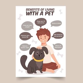Vantaggi della vita con un animale domestico